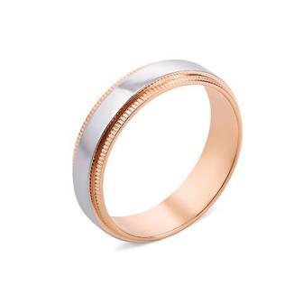 Обручальное кольцо комбинированное (10168/14/1)