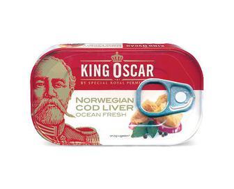 Печінка тріски King Oscar, 121г
