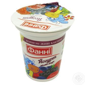 Йогурт 1.5% Фанні 280 г
