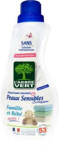Кондиціонер для білизни L'Arbre Vert Чутлива Шкіра 0.8 л