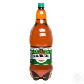 Пиво Закарпатское светлое ППБ 2 л