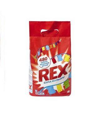 Засіб миючий синтетичний порошковий Сила кольору, автомат, 3 кг Rex