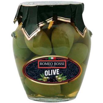 Оливки зелені Romeo Rossi Гігантські 290г